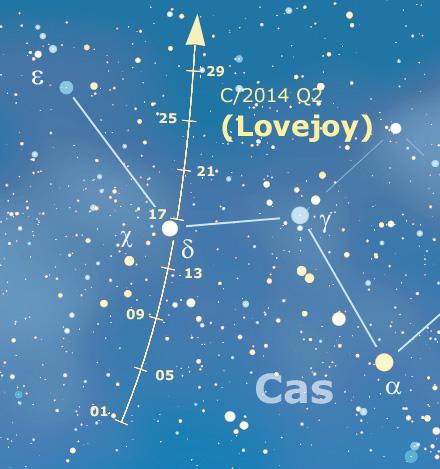 cartina lovejoy